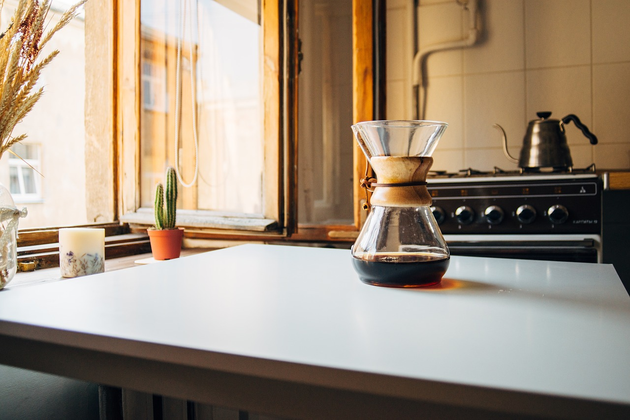 nybryggt kaffe