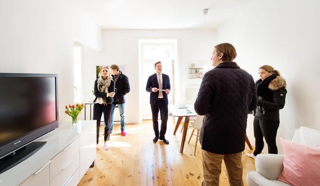 visning av lägenhet
