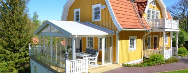 Uterum vid gul villa