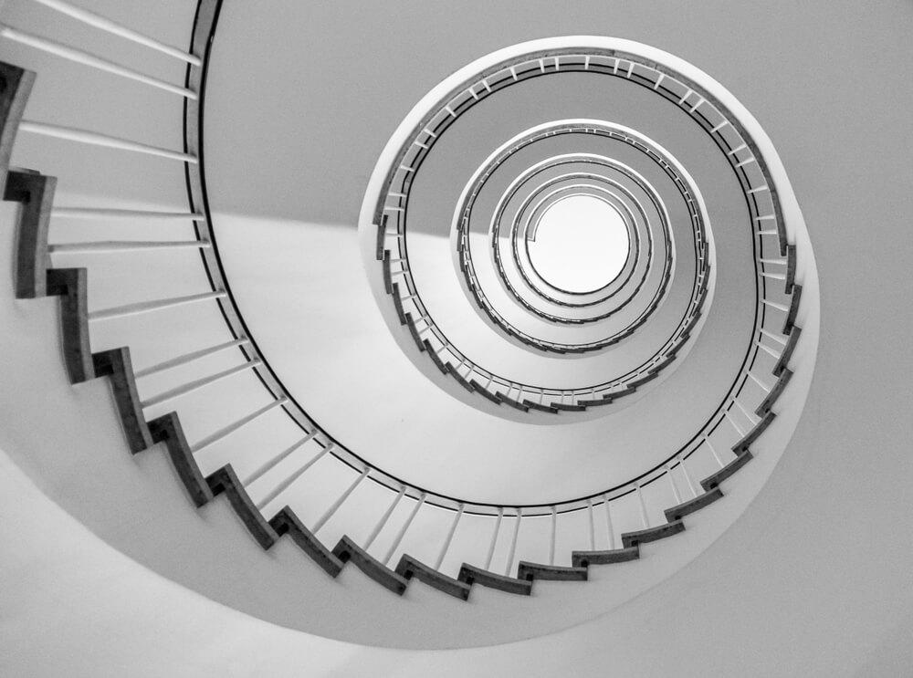 spiraltrappa i trapphus